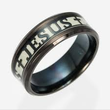 cross rings men images Jesus cross ring glow in the dark jesusgiftshop jpg