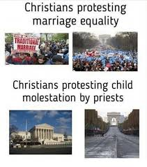 Marriage Equality Memes - christians protesting marriage equality traditional marriage