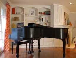 Beautiful Family Rooms With Baby Grand Pianos Piano Placement In - Beautiful family rooms
