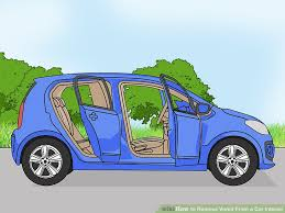 how to shoo car interior at home 3 ways to remove vomit from a car interior wikihow