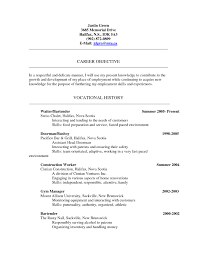 Construction Worker Job Description Resume by Busboy Job Description Resume Free Resume Example And Writing