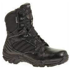 womens boots tex bates womens gx8 goretex side zip boots e02788