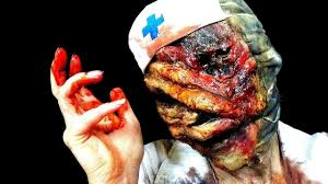 silent hill nurse halloween makeup tutorial part 1 the mask