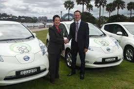 nissan australia managing director nissan leaf joins the ranks of sydneysiders