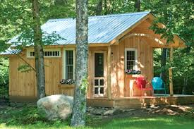 secluded camping cabins in new england
