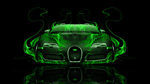 concept bugatti gangloff gold bugatti veyron with neon bugatti veyron front green fire