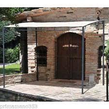 tettoia in ferro tettoia ferro in vendita ebay