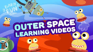 kids outer space ship adventure learn about planets