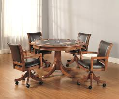kitchen table and chairs with casters dining room sets with wheels on chairs kitchen table sets with