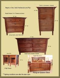 Mission Style Bedroom Furniture by Solid Wood Platform Storage Bed Fine Woodworking Plans Amish