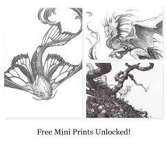 make 100 fantasy and scifi sketches by teal newcomb u2014 kickstarter