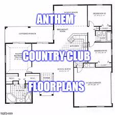 country floor plans anthem country club floor plans