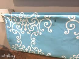 Fabric Sling Bookshelf Diy Fabric Bookshelves Refresh Living