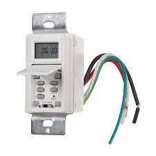 Westek Outdoor Timer by Westek Digital Residential Hardwired Timer Lowe U0027s Canada