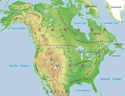 america physical map america physical map blank