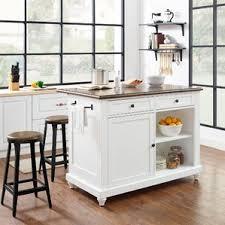 white kitchen island table white kitchen islands carts you ll wayfair