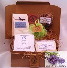 Spa Gift Baskets For Women Eco Spa Gift Set Womens Gift Basket Spa Kit Organic Bath
