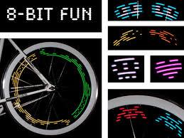 Monkey Bike Lights Mini Monkey Light An 8 Bit Led Bike Light With Changing Patterns