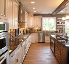 white kitchen cabinets brown countertops 12 most white cabinets with brown granite you must
