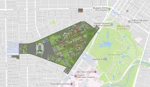Rice Campus Map Contact Us Ken Kennedy Institute K2i