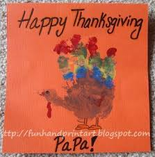colorful handprint turkey thanksgiving card handprint