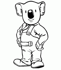 koala bear coloring page koala brothers 2 coloring page