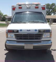 1992 ford econoline e350 ambulance item h1871 sold july