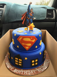 superman cake ideas superman birthday cake with fondant decorations things i ve done