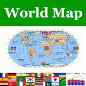 world map world map atlas 2017 android apps on play
