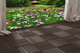 Snap Together Slate Patio Tiles by How To Install Wood Or Composite Deck Tiles