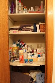 Bathroom Closet Organization Five Steps To Organizing And Simplifying Your Bathroom Closet