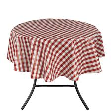 Tablecloth For Patio Table With Umbrella by Tablecloths The Home Depot