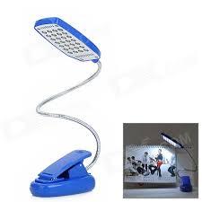 usb powered led light flexible clip on white 28 led desk light l blue silver 3 x