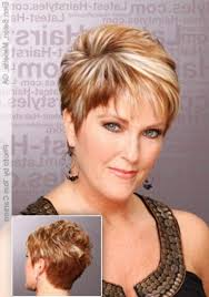 short hairstyles for women over 40 with round faces hairstyle