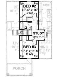second story floor plans 3 bedrm 1683 sq ft bungalow house plan 178 1144