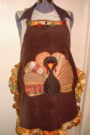 thanksgiving apron from and scraps