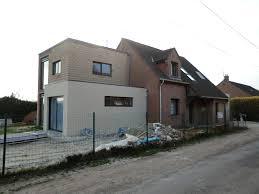 extension maison contemporaine création d u0027une extension moderne à nieppe