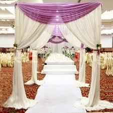 wedding backdrop canopy wholesale wedding arch square pavilion backdrop curtains wedding