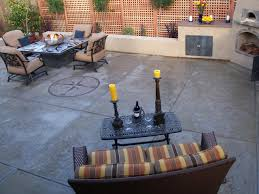 Stamped Concrete Backyard Ideas Concrete Patios Hgtv