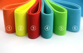 elastic ribbon wholesale 2 inch 50mm wide solid colored side twill elastic band