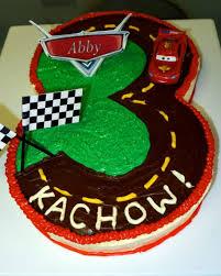 cars birthday cake lightning mcqueen cars 3rd birthday cake cakecentral