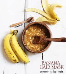 banana hair diy honey banana hair mask to revive hair littlediy