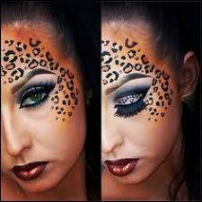 Halloween Cheetah Costumes 25 Halloween Makeup Ideas Inspired Face Makeup