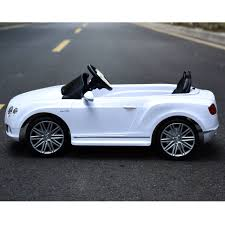 bentley sports car white bentley gtc ride on cars black u0026 white available
