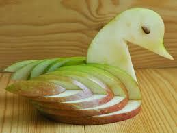 3 ways to make an apple swan wikihow