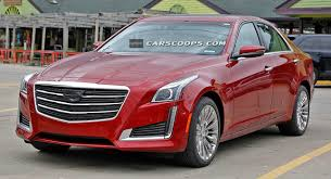 cts cadillac 2015 scoop 2015 cadillac cts also gets a schnozzle