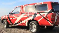 toyota owner loves van halen so much he painted his car like the