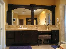 Framing Existing Bathroom Mirrors Large Framed Bathroom Mirror Awesome Marvelous Framed Bathroom
