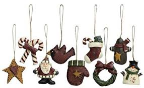 world mini ornaments 9 set vintage