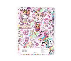hello kitty writing paper tokidoki x hello kitty lined notebook sweets sanrio tokidoki x hello kitty lined notebook sweets view 2